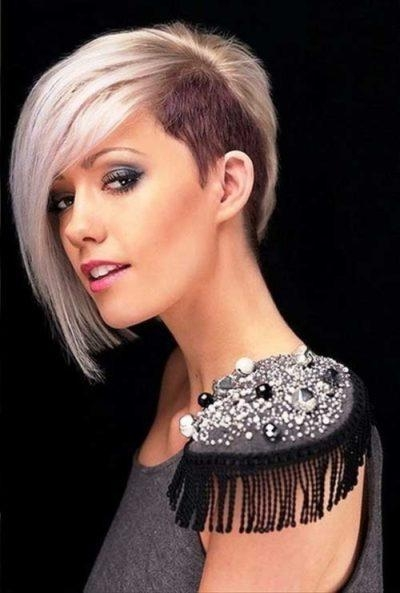 Womens Hairstyles Shaved Sides With Regard To Your Own Hairstyles Pertaining To Short Haircuts With Shaved Side (View 20 of 20)