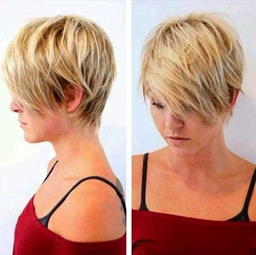 Womens Short Hairstyles For Thin Hair | Short Hairstyles 2016 With Trendy Short Hairstyles For Thin Hair (View 20 of 20)