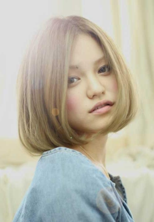 Photo Gallery Of Blonde Asian Hairstyles Viewing 14 Of 20 Photos