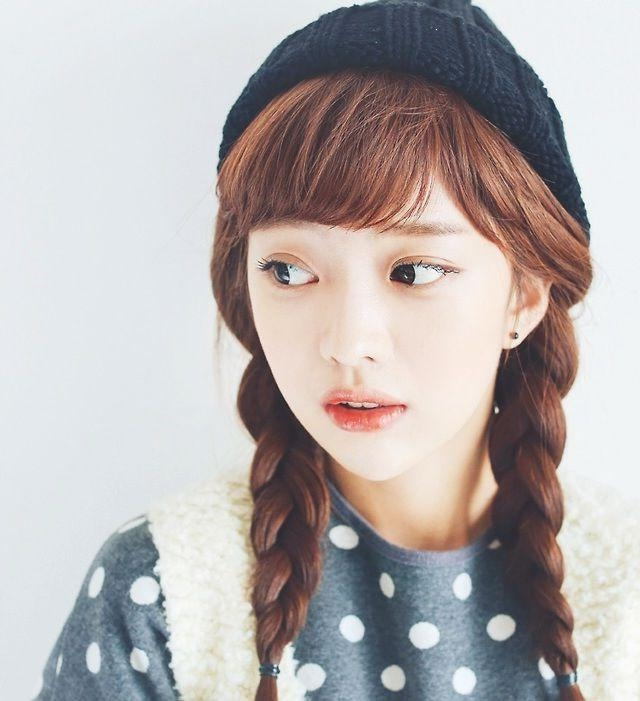 10 Korean Hairstyles Intended For Girl Korean Hairstyles (View 13 of 20)
