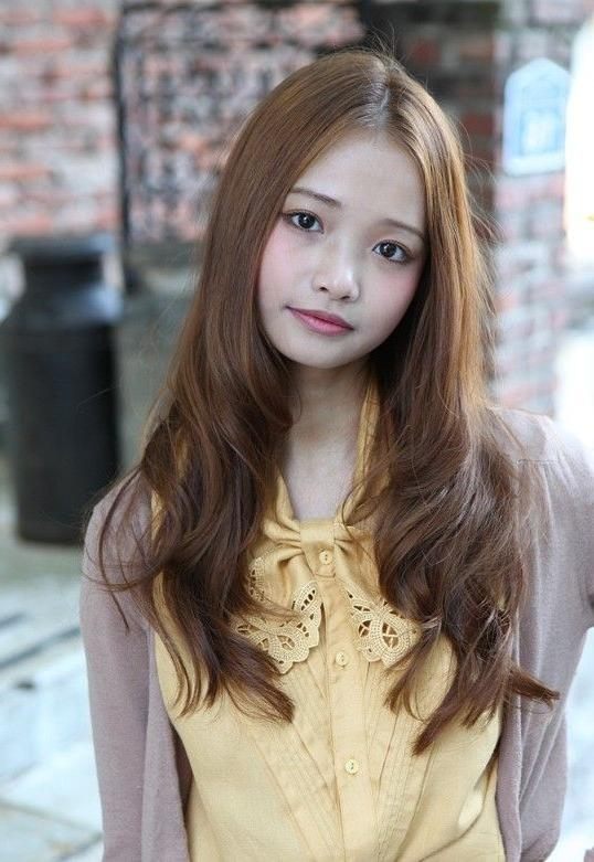 126 Best Hair Images On Pinterest | Hairstyle Ideas, Cute Inside Cute Asian Hairstyles For Long Hair (View 1 of 20)