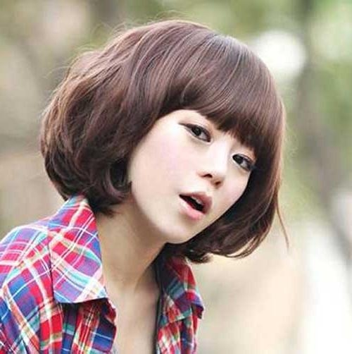 15 Best Korean Bob Hairstyle 2014 – 2015 | Short Hairstyles Intended For Korean Haircuts With Bangs (View 11 of 20)