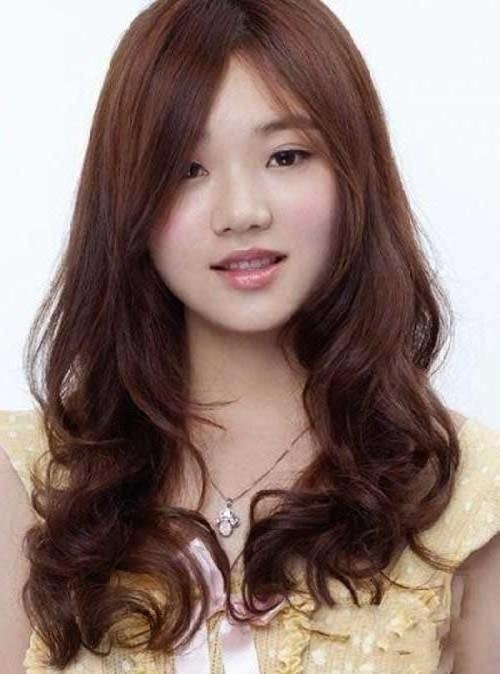 15 Collection Of Korean Hairstyle With Round Face In Asian Hairstyles For Round Faces (View 2 of 20)