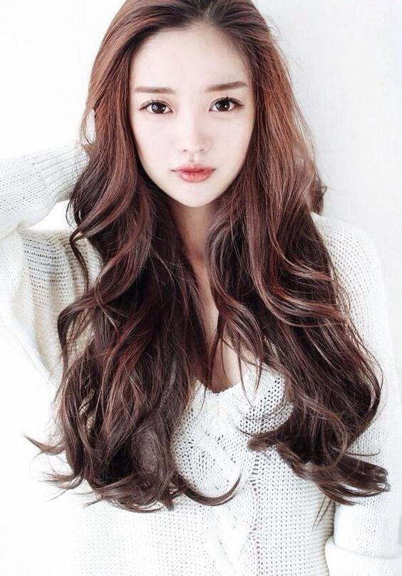 15 Ideas Of Long Hairstyles Korean Regarding Asian Hairstyles (View 2 of 20)