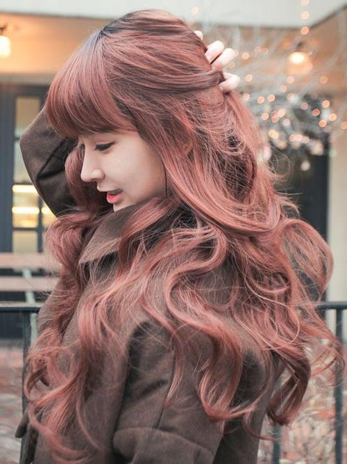 16 Fascinating Asian Hairstyles – Pretty Designs Pertaining To Asian Haircuts With Bangs (View 2 of 20)