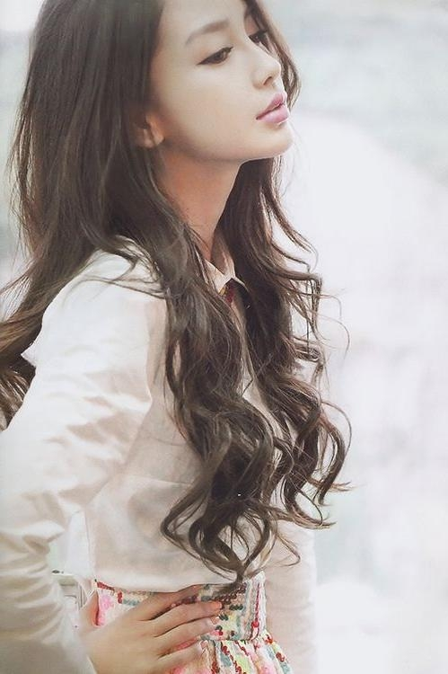 16 Fascinating Asian Hairstyles | Tousled Hair, Makeup And Hair Cuts Intended For Korean Haircuts Styles For Long Hair (View 1 of 20)