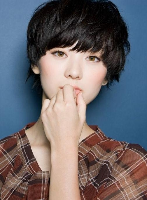 18 New Trends In Short Asian Hairstyles – Popular Haircuts In Cute Short Asian Haircuts (View 2 of 20)