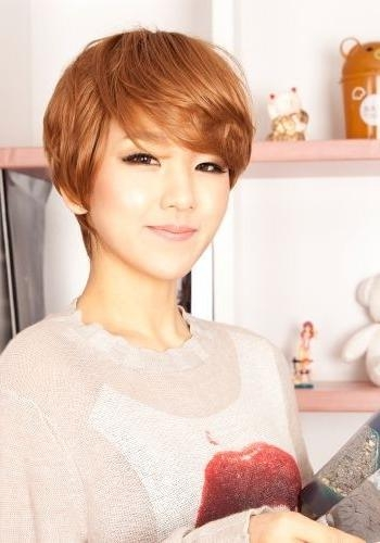 18 New Trends In Short Asian Hairstyles – Popular Haircuts In Cute Short Asian Hairstyles (View 13 of 20)