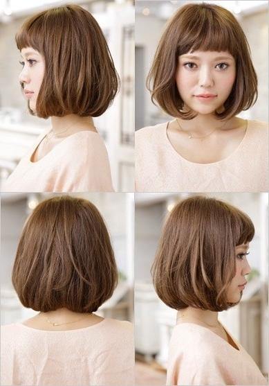 18 New Trends In Short Asian Hairstyles – Popular Haircuts With Regard To Asian Hairstyles With Short Bangs (Gallery 7 of 20)