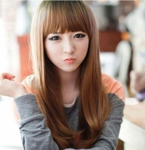 19 Best Korean Hairstyles For Women Images On Pinterest | Hair Cut Inside Cute Korean Haircuts (View 4 of 20)