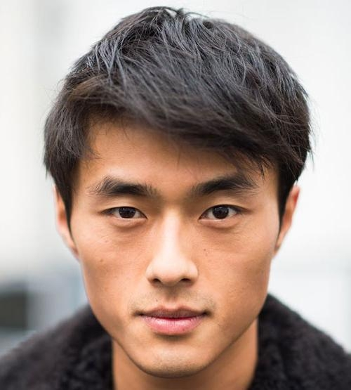 19 Popular Asian Men Hairstyles | Men's Hairstyles + Haircuts 2018 With Regard To Asian Haircuts (View 3 of 20)