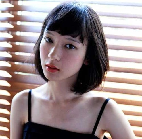 20 Asian Short Haircuts | Short Hairstyles 2016 – 2017 | Most Intended For Asian Hairstyles With Short Bangs (View 3 of 20)