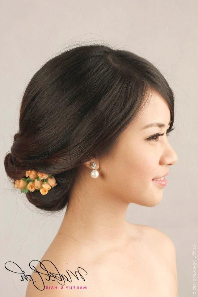 20 Best Chinese Hairstyles Images On Pinterest | Bridal Makeup Pertaining To Modern Chinese Hairstyles (View 2 of 20)