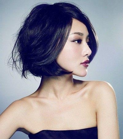 20 Charming Short Asian Hairstyles For 2018 – Pretty Designs Regarding Short Wavy Asian Hairstyles (View 2 of 20)