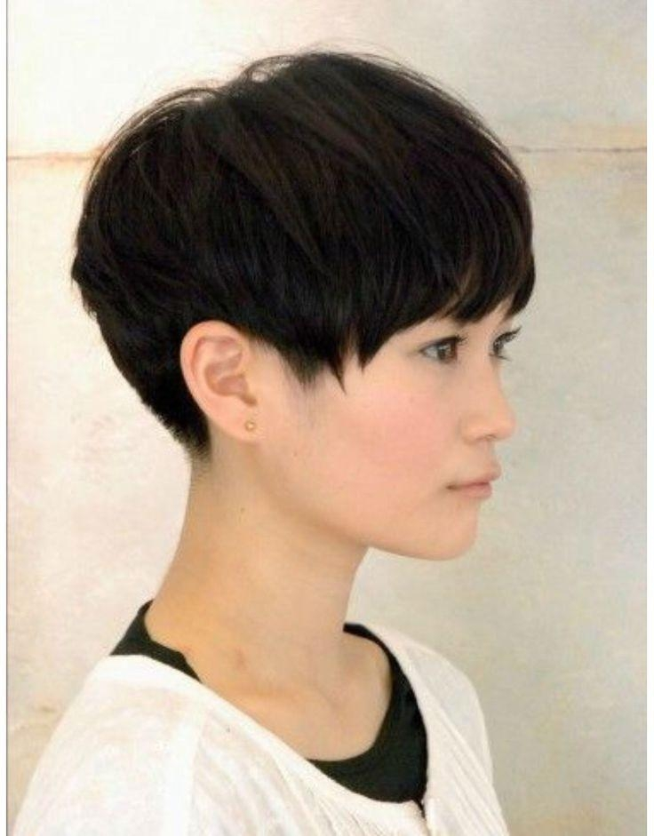 20 Charming Short Asian Hairstyles For 2018 – Pretty Designs Throughout Very Short Asian Hairstyles (View 2 of 20)