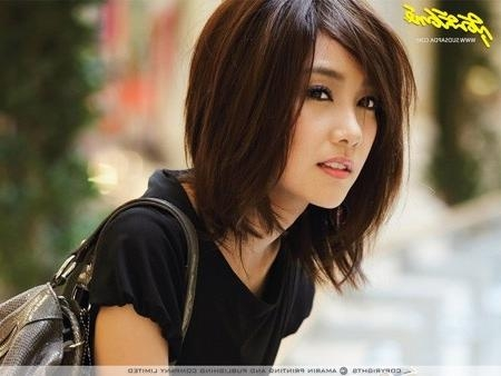 20 Charming Short Asian Hairstyles For 2018 – Pretty Designs With Asian Haircuts For Women (View 17 of 20)