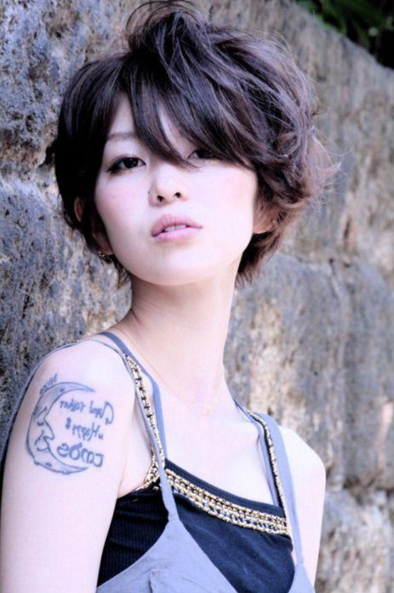 20 New Short Hairstyles For Asian Women | Hairstyle Guru Pertaining To Short Female Asian Hairstyles (View 4 of 20)