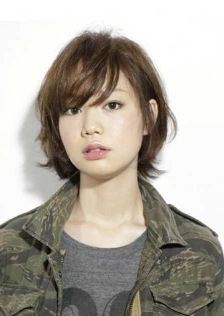 20 Pretty Short Asian Hairstyles | Bob Hairstyle, Bangs And Bobs Intended For Asian Hairstyles With Short Bangs (View 5 of 20)