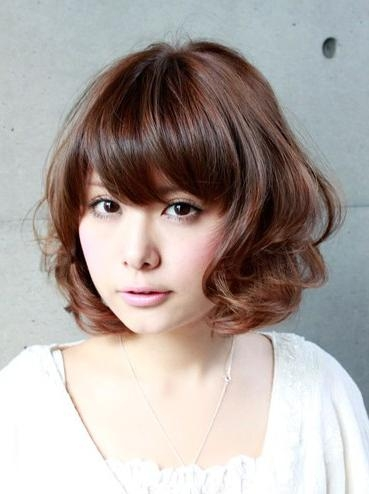 2013 Japanese Wavy Hairstyle – Hairstyles Weekly Within Short Wavy Asian Hairstyles (View 5 of 20)