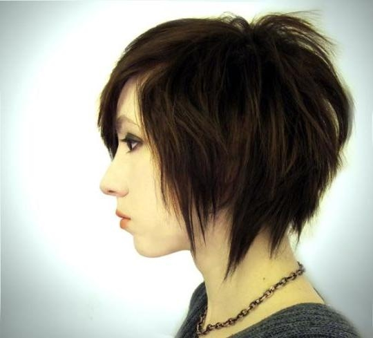 2015 Edgy Short Haircuts For Girls | Hairjos Regarding Edgy Asian Haircuts (View 9 of 20)