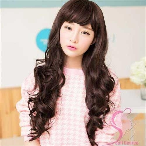 2018 Popular Korean Long Haircuts For Women Throughout Popular Korean Hairstyles (View 4 of 20)