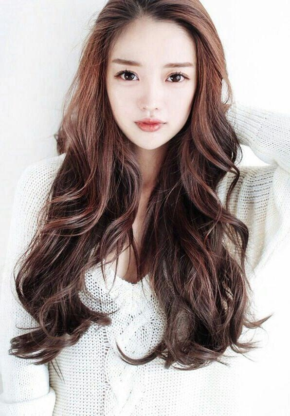 21 Best Hair Images On Pinterest | Hair Dos, Korean Hairstyles And Within Korean Hairstyles For Long Hair (View 3 of 20)