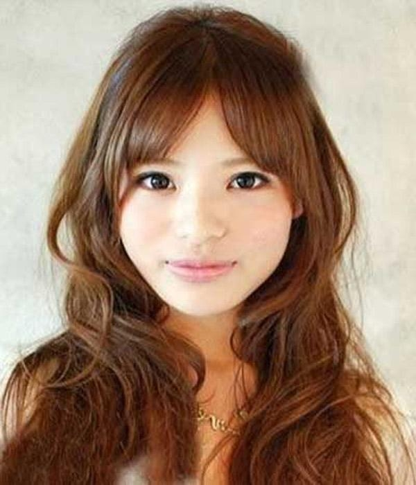 25 Gorgeous Asian Hairstyles For Girls Intended For Long Asian Hairstyles With Bangs (View 4 of 20)