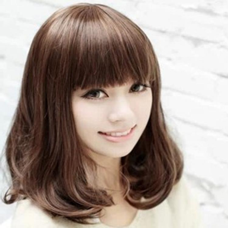 25 Gorgeous Asian Hairstyles For Girls Throughout Asian Haircuts With Bangs (View 5 of 20)