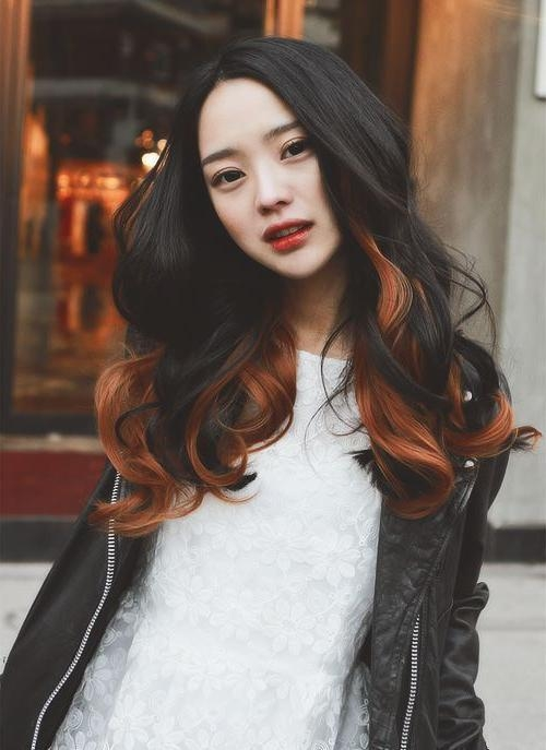 25 Gorgeous Asian Hairstyles For Girls With Regard To Asian Haircuts For Long Hair (View 8 of 20)