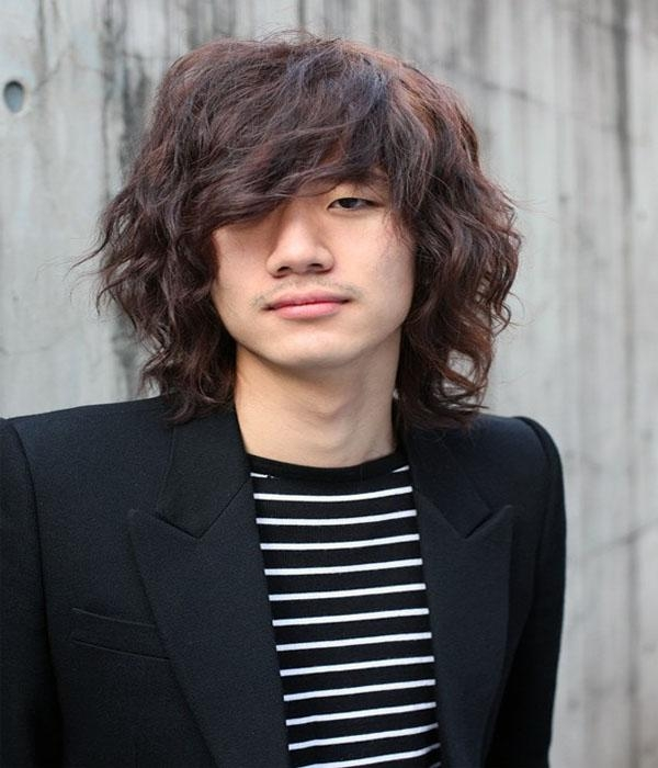 25 Trendy Asian Hairstyles Men In 2018 Within Curly Asian Hairstyles (View 4 of 20)