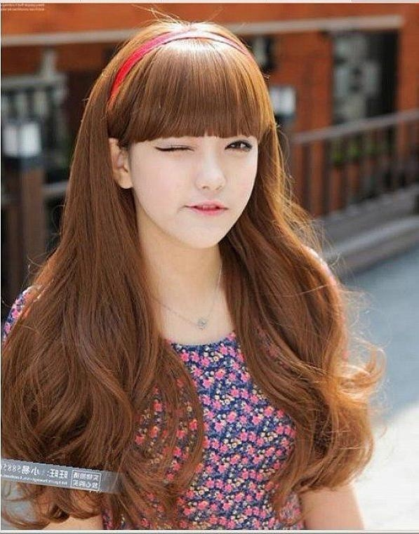 27 Best Hairstyle Ideas Images On Pinterest | Hairstyle Ideas For Korean Hairstyles For Oval Shaped Face (View 5 of 20)