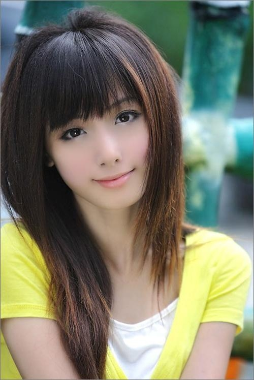 27 Cute Asian Girl Hairstyles – Creativefan With Cute Chinese Hairstyles (View 7 of 20)