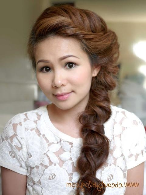 30 Diy Wedding Hairstyles: Gorgeous Wedding Hair Styles For With Asian Hairstyles For Wedding (View 4 of 20)