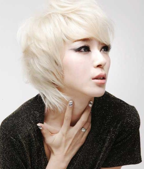 31 Interesting Blonde Hair Ideas For Asian Women | Hairstylo Throughout Blonde Asian Hairstyles (View 5 of 20)