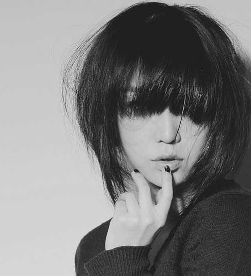 35 Short Haircuts For Thick Hair | Short Hairstyles 2016 – 2017 Within Thick Asian Hairstyles (View 12 of 20)