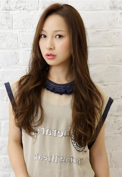 5 Fabulous Hairstyles For Asian Women – Pretty Designs Within Wavy Asian Hairstyles (View 7 of 20)