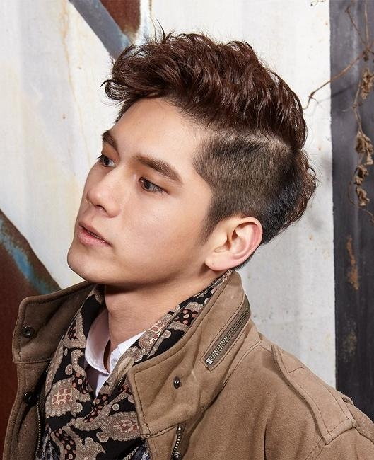 5 Korean Men's Hairstyle Inspiration From Seoul Fashion Week – His Intended For South Korean Hairstyles (View 5 of 20)