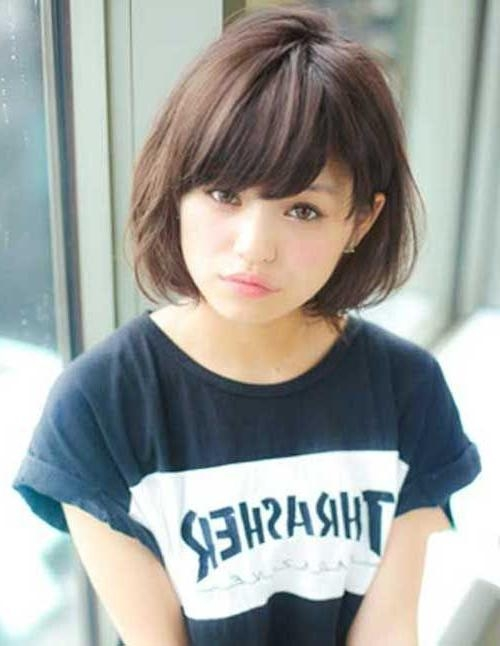 50 Cute Haircuts For Girls To Put You On Center Stage | Asian Bob Inside Cute Asian Haircuts (View 3 of 20)