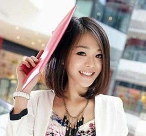 50 Incredible Short Hairstyles For Asian Women To Enjoy Inside Asian Hairstyles For Women (View 7 of 20)