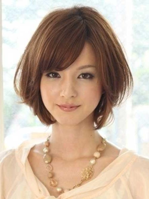50 Incredible Short Hairstyles For Asian Women To Enjoy With Asian Hairstyles With Short Bangs (View 10 of 20)