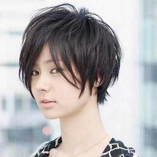 50 Remarkable Short Haircuts For Round Faces | Hair Motive Hair Motive Throughout Korean Hairstyles For Round Face (View 5 of 20)