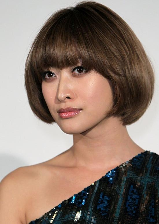 50 Trendy And Easy Asian Girls' Hairstyles To Try In Asian Hairstyles For Round Face (View 9 of 20)