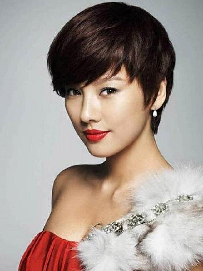 8 Best Short Party Haristyles Images On Pinterest | Hairdos, Party Pertaining To Very Short Asian Hairstyles (Gallery 16 of 20)