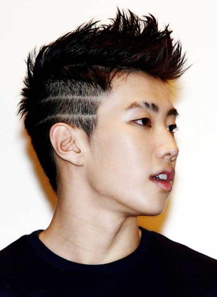 85 Charming Asian Hairstyles For Men – [New In 2018] With Edgy Asian Hairstyles (Gallery 14 of 20)