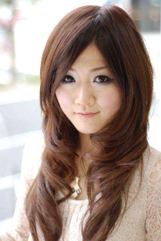 Asian Long Layered Hairstyles Long Layered Asian Hairstyles Black With Long Layered Asian Hairstyles (View 7 of 20)