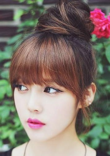 Best 25+ Asian Bangs Ideas On Pinterest | See Through Bangs Korean With Asian Haircuts With Bangs (View 12 of 20)
