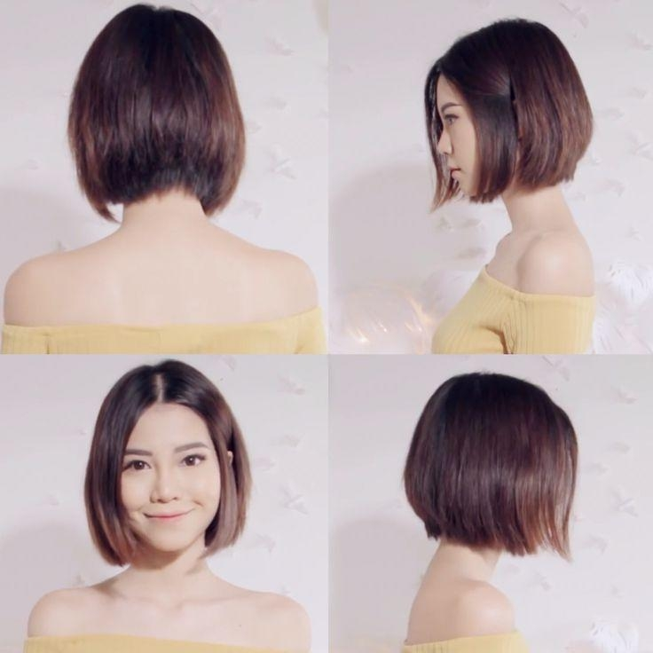 Best 25+ Asian Bob Ideas On Pinterest | Asian Short Hair, Asian Throughout Chinese Hairstyles For Short Hair (View 8 of 20)