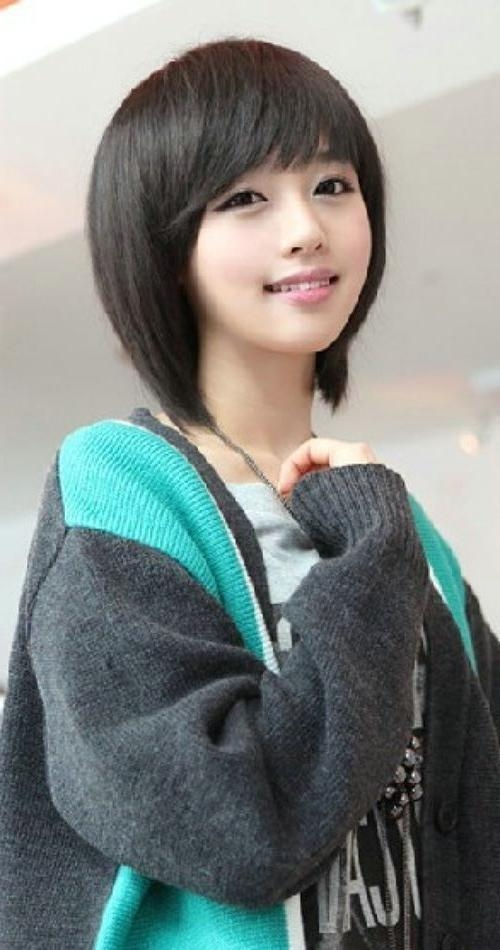 Featured Photo of Cute Korean Hairstyles For Short Hair