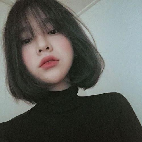 Best 25+ Korean Bangs Ideas On Pinterest | Korean Bangs Hairstyle With Regard To Asian Haircuts With Bangs (View 13 of 20)