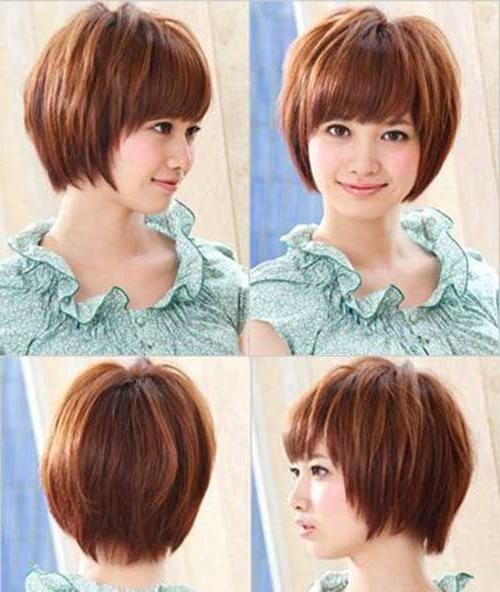 Best 25+ Korean Hairstyle Medium Round Faces Ideas On Pinterest Inside Easy Korean Hairstyles (View 8 of 20)